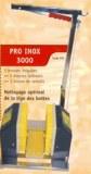 Lave bottes PRO INOX 3000