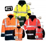 Parka Polyester 4 en 1 HI-WAY
