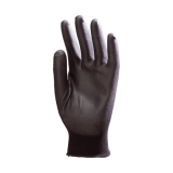 Lot de 10 Paires Gant Polyamide Noir Enduction PU